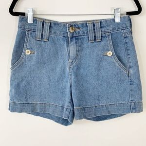 Signature by LEVI Strauss & Co . Jean Shorts . 6